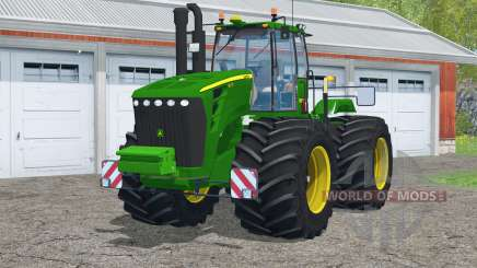 John Deere 9630〡 avec pneus terra pour Farming Simulator 2015