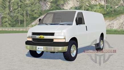 Chevrolet Express Cargo Van für Farming Simulator 2017