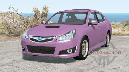 Subaru Legacy B4 (BM) 2010 pour BeamNG Drive