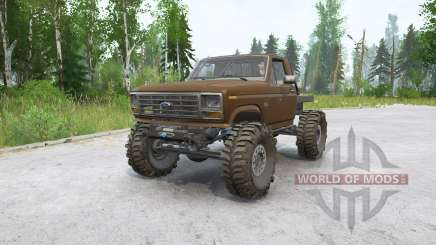 Ford F-150 Rockwell pour MudRunner