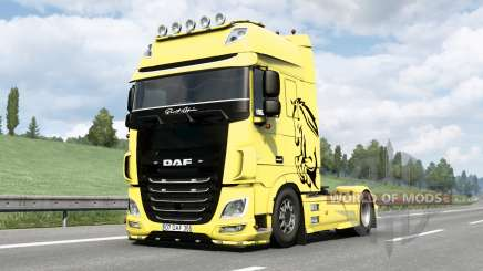 DAF XF Super Space Cab〡Berat Afsin v1.1 pour Euro Truck Simulator 2