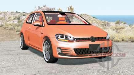 Volkswagen Golf GTI 3-door (Typ 5G) 2013 pour BeamNG Drive