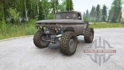 Chevrolet K10 Rockwell pour MudRunner