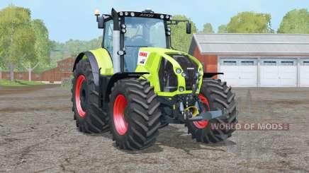 Claas Axion 850〡 roues pour Farming Simulator 2015