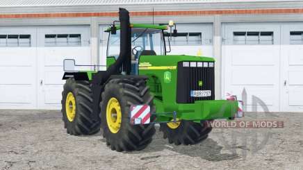 John Deere 9420〡real pour Farming Simulator 2015