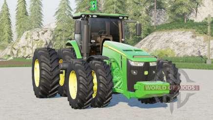 John Deere série 8R〡BR version pour Farming Simulator 2017