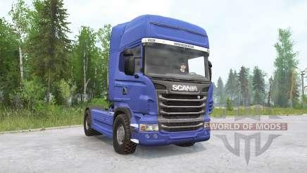 Scania R730 4x4 Topline Cab 2010 für MudRunner