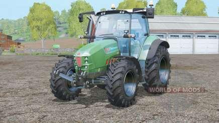 Hurlimann XM 130 T4i V-Drive〡Lime Edition für Farming Simulator 2015