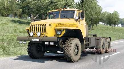 Ural 44202〡 options de moteur pour Euro Truck Simulator 2