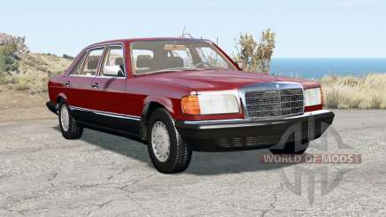Mercedes-Benz 560 SEL (W126) 1985 pour BeamNG Drive