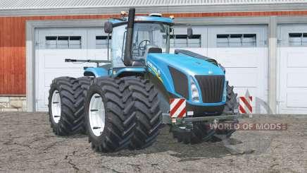 New Holland T9.700〡alle 8 Räder kollisionen für Farming Simulator 2015