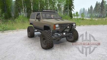 Jeep Cherokee 2-türig (XJ) 1993〡off-road für MudRunner