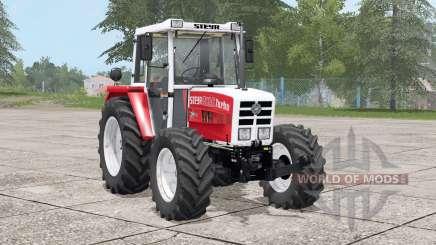 Steyr 8090A Turbo〡dynamischer Auspuff für Farming Simulator 2017