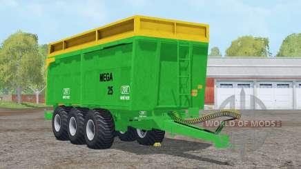 ZDT Mega 25〡capacité 38000 litres pour Farming Simulator 2015