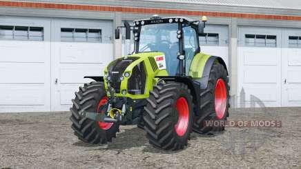 Essuie〡essuie〡aimage claas Axion pour Farming Simulator 2015