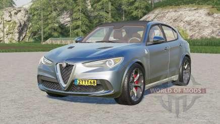 Alfa Romeo Stelvio Quadrifoglio (949) 2017 pour Farming Simulator 2017