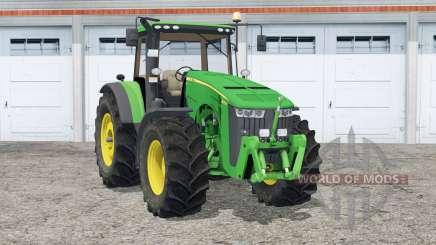 John Deere 8370R〡animierte Lenkung für Farming Simulator 2015
