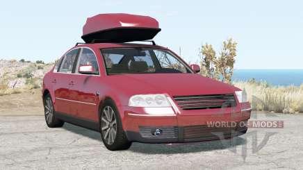Volkswagen Passat sedan (B5.5) 2001 v2.0 für BeamNG Drive