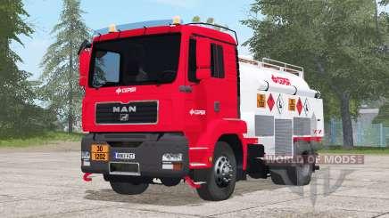 MAN TGM Fuel Truck pour Farming Simulator 2017