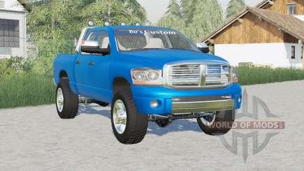 Dodge Ram 2500 Quad Cab 2006〡Rockstar roues pour Farming Simulator 2017