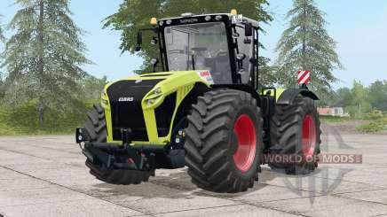 Configurations Claas Xerion Trac VC〡engine pour Farming Simulator 2017