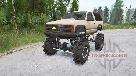 Chevrolet Tahoe Sport 3-türig (GMT410) 1995〡Off-road für MudRunner