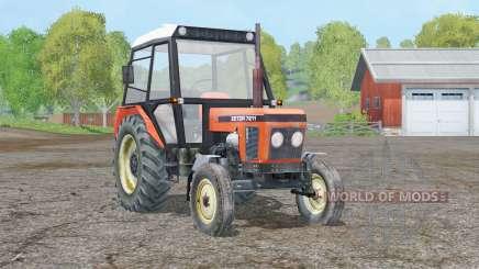 Zetor 7211〡 axe mobile pour Farming Simulator 2015