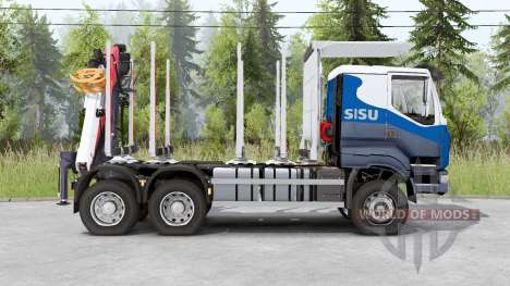 Sisu C600 Timber Truck v1.2 pour Spin Tires