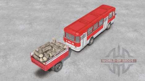 LiAZ-677 pour Spin Tires