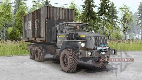 Ural-4320-1951-60 für Spin Tires