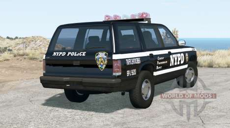 Gavril Roamer NYPD Traffic Enforcement pour BeamNG Drive