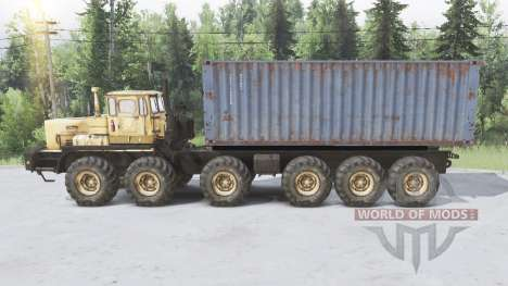 Goliath für Spin Tires