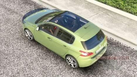 Peugeot 308 (T9) 2014 pour American Truck Simulator