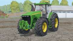 John Deere 8220〡 signes d'avertissement pour Farming Simulator 2015