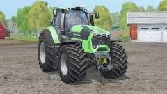 Deutz-Fahr 9340 TTV Agrotron〡nouvelle physique de conduite pour Farming Simulator 2015