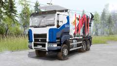 Sisu C600 Timber Truck pour Spin Tires