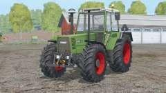 Fendt Favorit 615 LSA Turbomatik E〡visual changes pour Farming Simulator 2015
