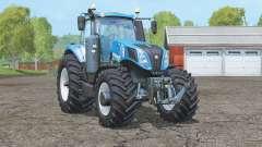 New Holland T8.435〡wheels tracteur pour Farming Simulator 2015