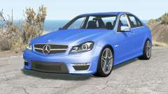 Mercedes-Benz C 63 AMG (W204) 2011 v1.1 pour BeamNG Drive