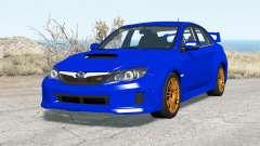 Subaru Impreza WRX STI sedan 2010 pour BeamNG Drive