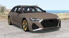 Audi RS 6 Avant (C8) 2019 pour BeamNG Drive
