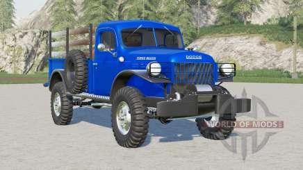 Dodge Power Wagon 1946 pour Farming Simulator 2017