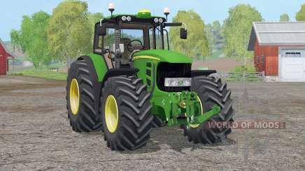 John Deere 7530 Premium〡neue Felgen für Farming Simulator 2015