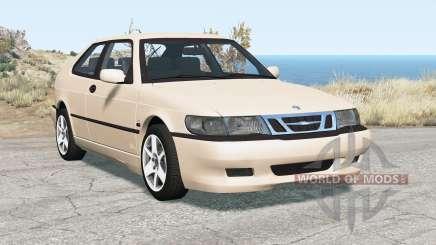 Saab 9-3 Aero coupe 1999 pour BeamNG Drive