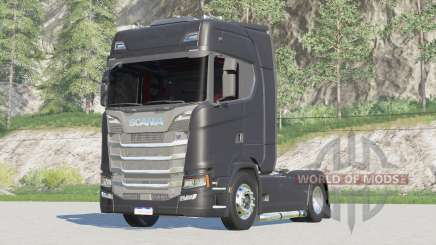 Scania série S Highline 2017 〡élection du moteur pour Farming Simulator 2017