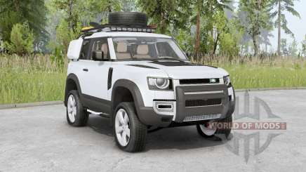 Land Rover Defender 90 D240 SE Adventure 2020 für Spin Tires