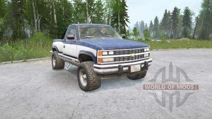 Chevrolet K1500 Regular Cab Sportside 1988〡die Ladung für MudRunner