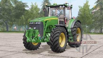 John Deere 8030 série〡sound mise à jour pour Farming Simulator 2017