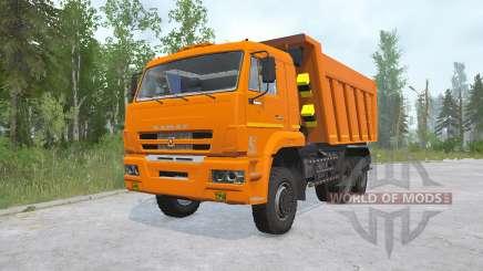 Kamaz-6522-53 für MudRunner