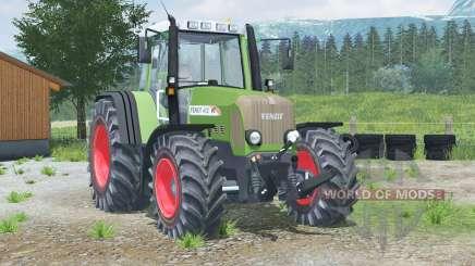 Fendt 412 Vario TMS 〡 allumage manuel pour Farming Simulator 2013